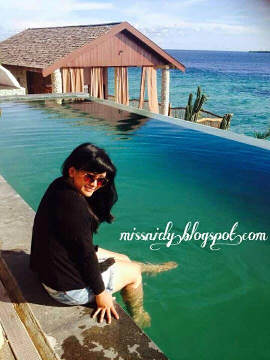 kolam renang di amatoa resort