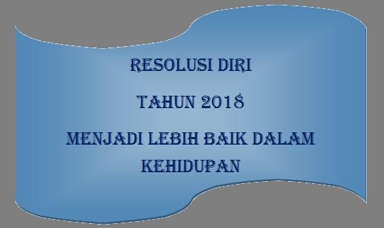 Resolusi Diri Tahun 2018 Untuk Masyarakat Indonesia Lebih Baik