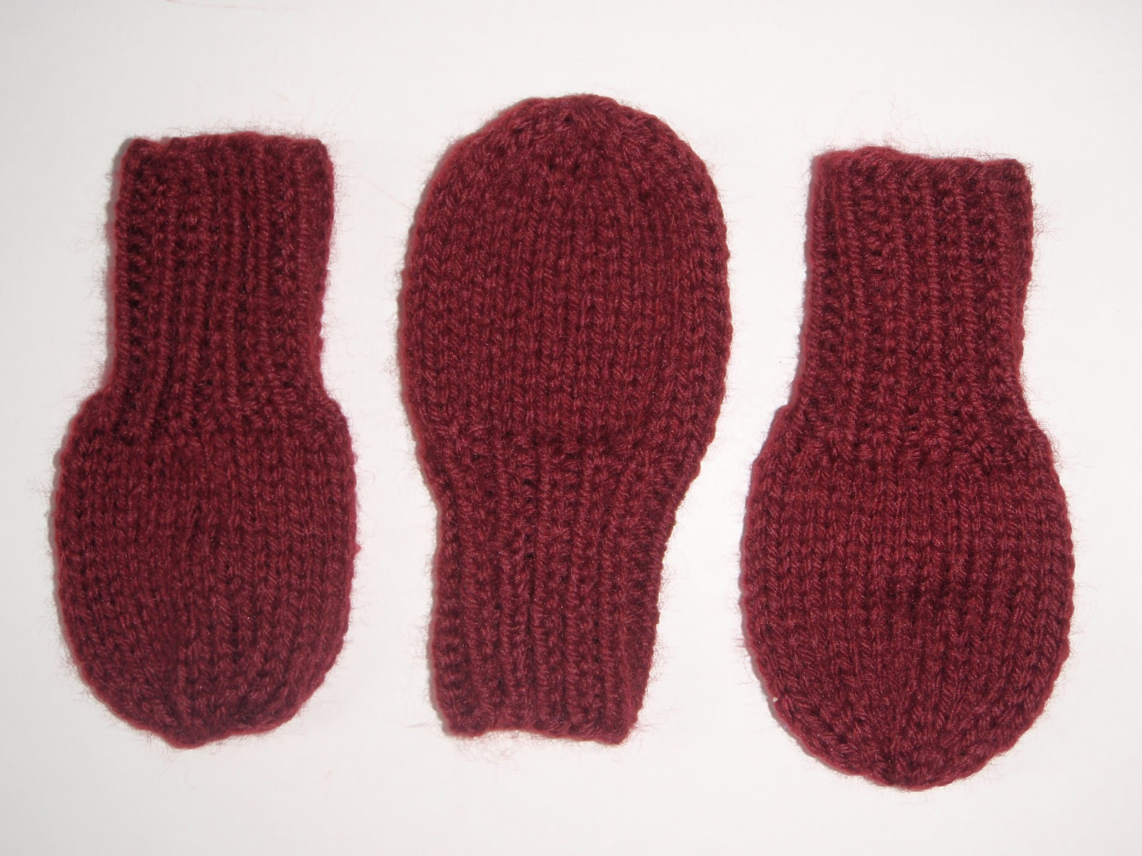 If the knit fits...: FO Friday- Toddler mittens