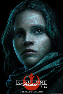 Rogue One A Star Wars Story Felicity Jones Poster
