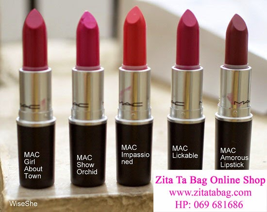 MAC girl about Town, MAC Show Orchid , MAC Impassio ned ...