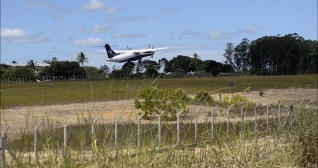 Aeroporto de Teixeira de Freitas recebe equipamento de auxílio a operações aéreas