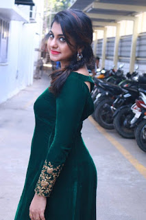 Meera Nandan Pictures in Long Dress at Ner Mugam Movie Audio Launch ~ Celebs Next