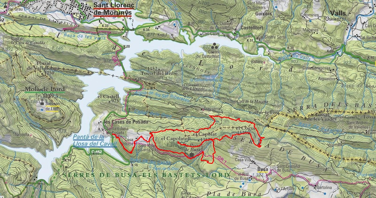 Excursions Muntanyenques  Pant U00c0 De La Llosa Del Cavall