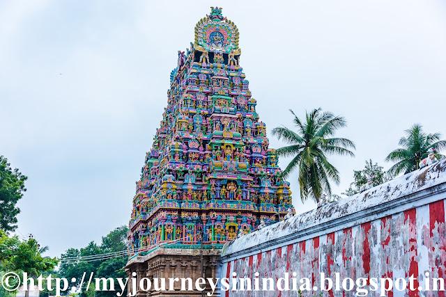 Pateeshwaram Thenupuriswarar Temple Tower