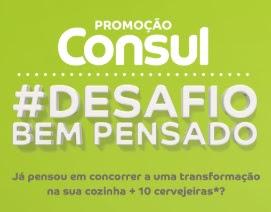 Cadastrar Promoção Consul Desafio Bem Pensado - Prêmios, Participar