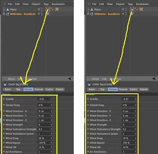 Tablecloth tutorial using cinema 4D