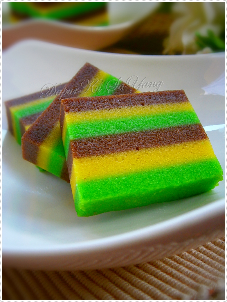 Kek lapis kukus cake ideas and designs