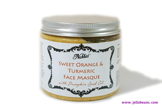 Nekkid Sweet Orange and Turmeric Face Masque