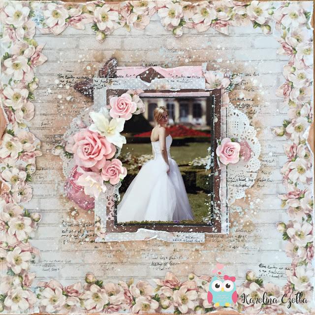 oprawa ślubnego zdjęcia