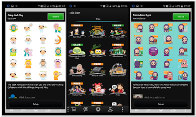 BBM MOD BLACK THEMES FREE STICKER v2.2.1.40 APK