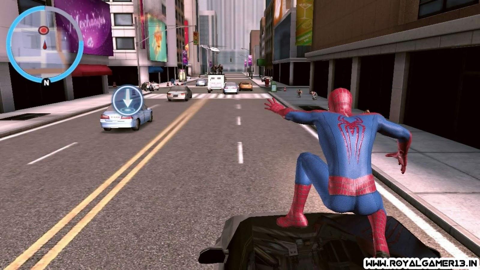 Download the amazing spider man 2 apk unlimited money