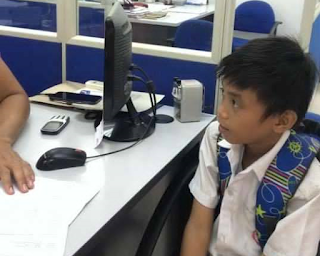 Grade 5 Pupil Bravely Applies for Cleaning Job at Office to Earn Money for School Project