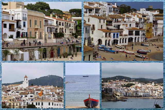 Coastal walk near Palafrugell in Costa Brava, Spain (between Calella and Llafranc)