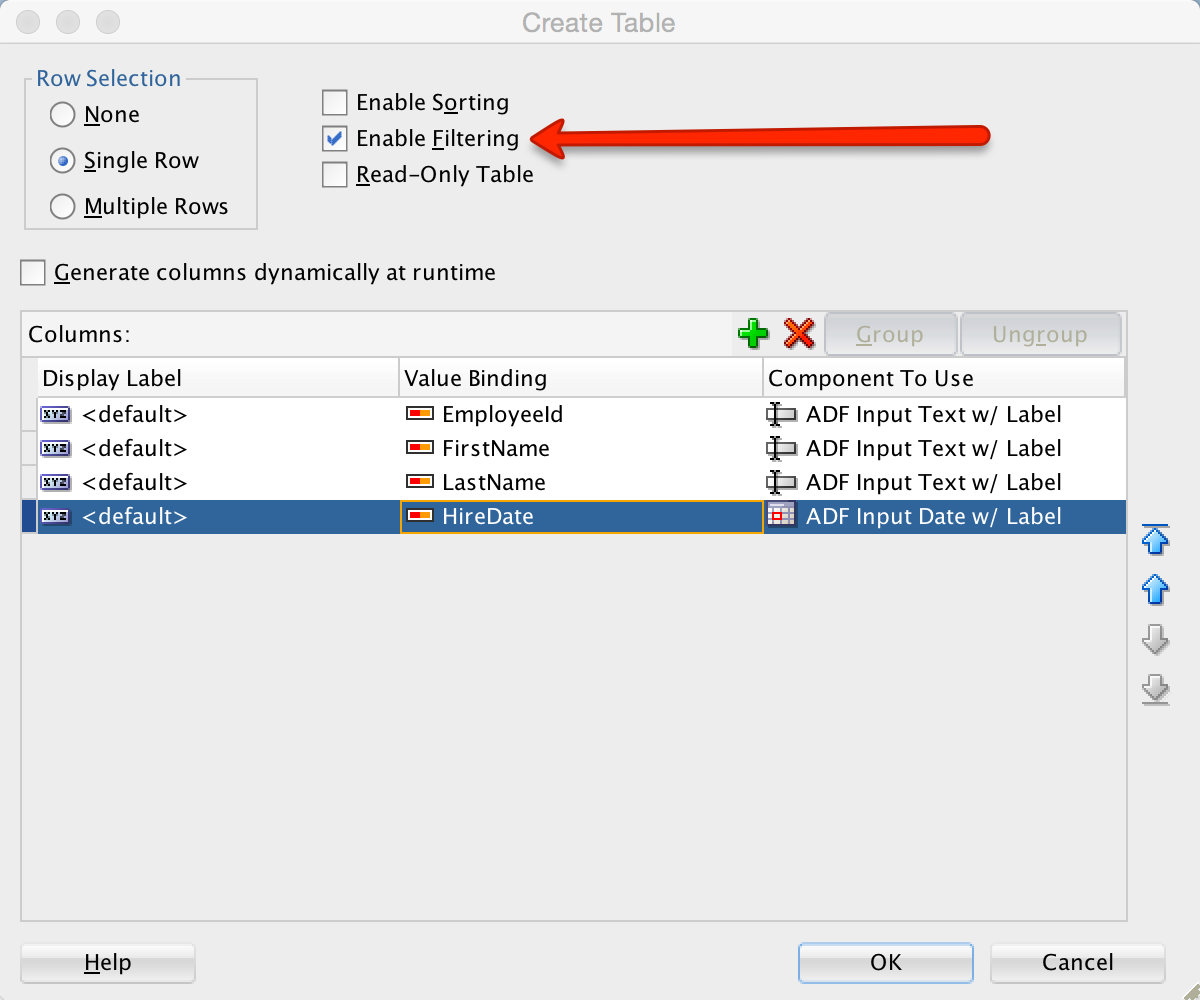 ADF 12.1.3 : Implementing Default Table Filter Values