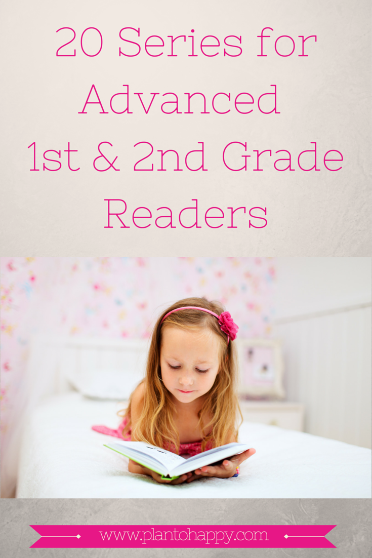 Plan To Happy 20 Series For Advanced First And Second Grade Readers