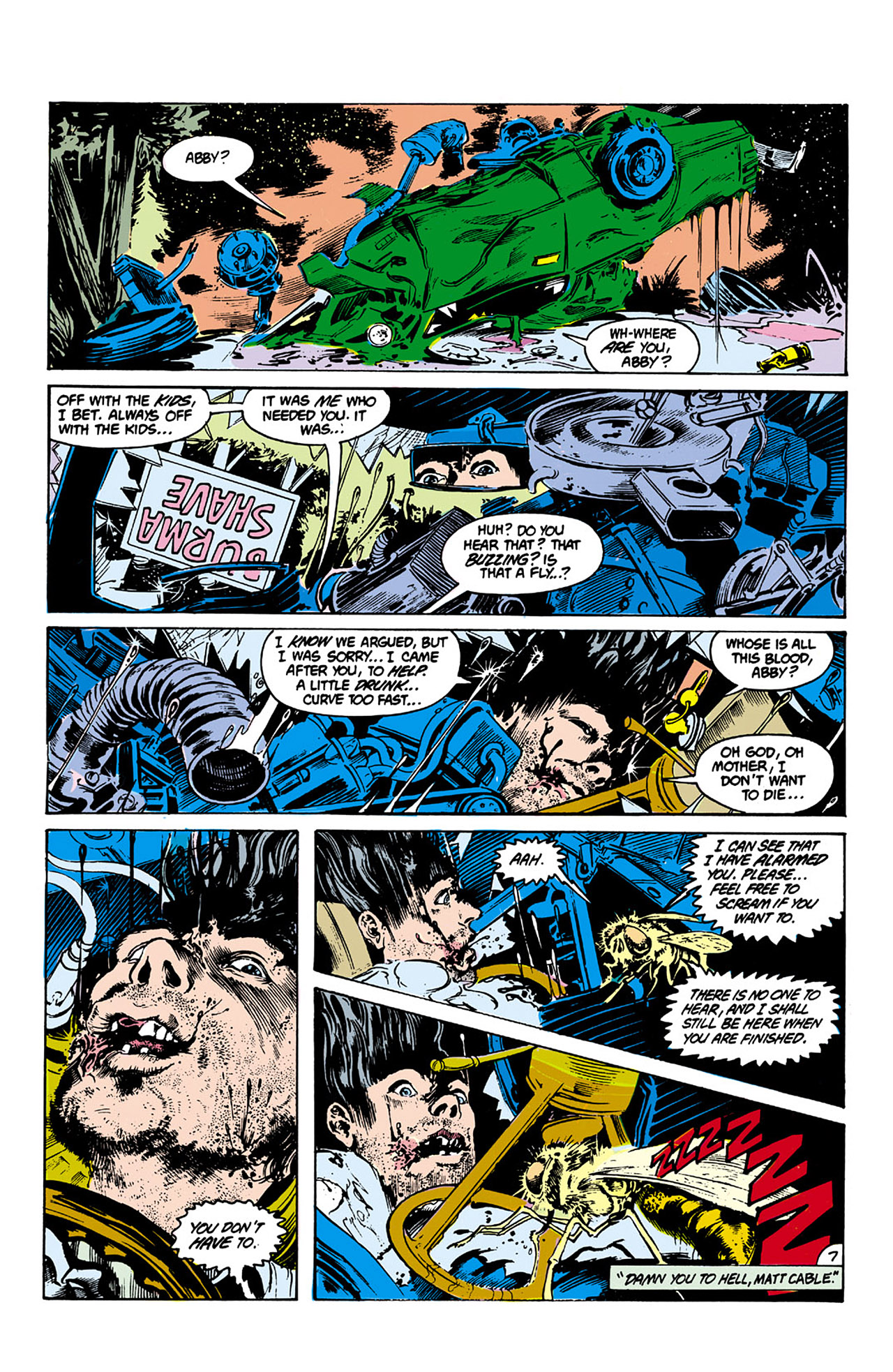 Swamp Thing (1982) Issue #27 #35 - English 7