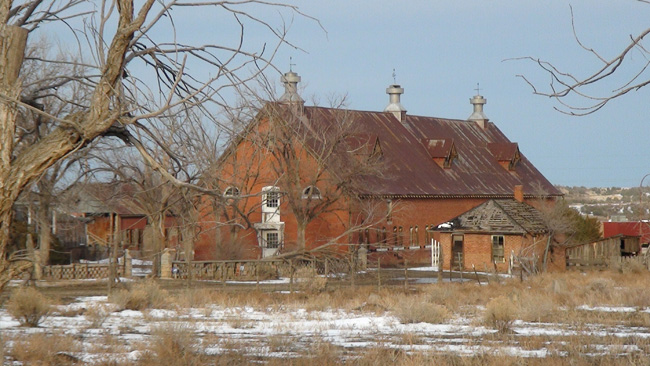 Abandoned buildings in Trinidad, Colorado