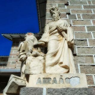 Profeta Abraão na Igreja Matriz de São Joaquim