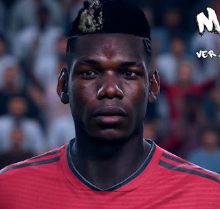 FIFA 19 Faces Paul Pogba by CrazyRabbit