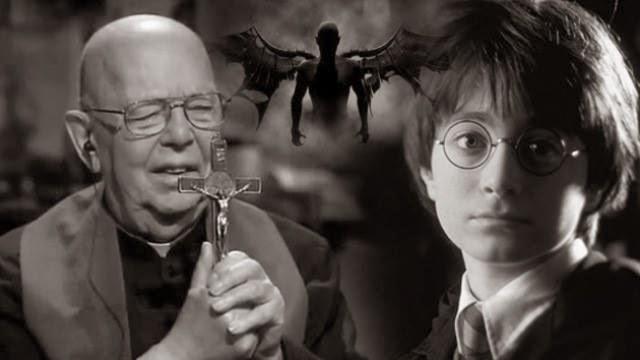 Un sacerdote culpa a Harry Potter por el incremento de exorcismos