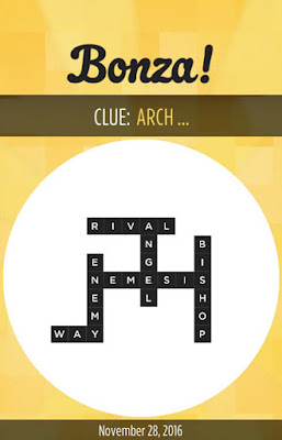 November 28 2016 Bonza Daily Word Puzzle Answers