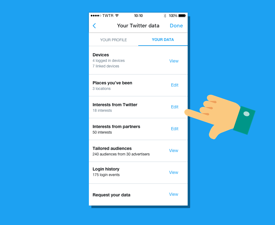 Twitter keeps a list of everything it thinks you're interested in — here's how to find it