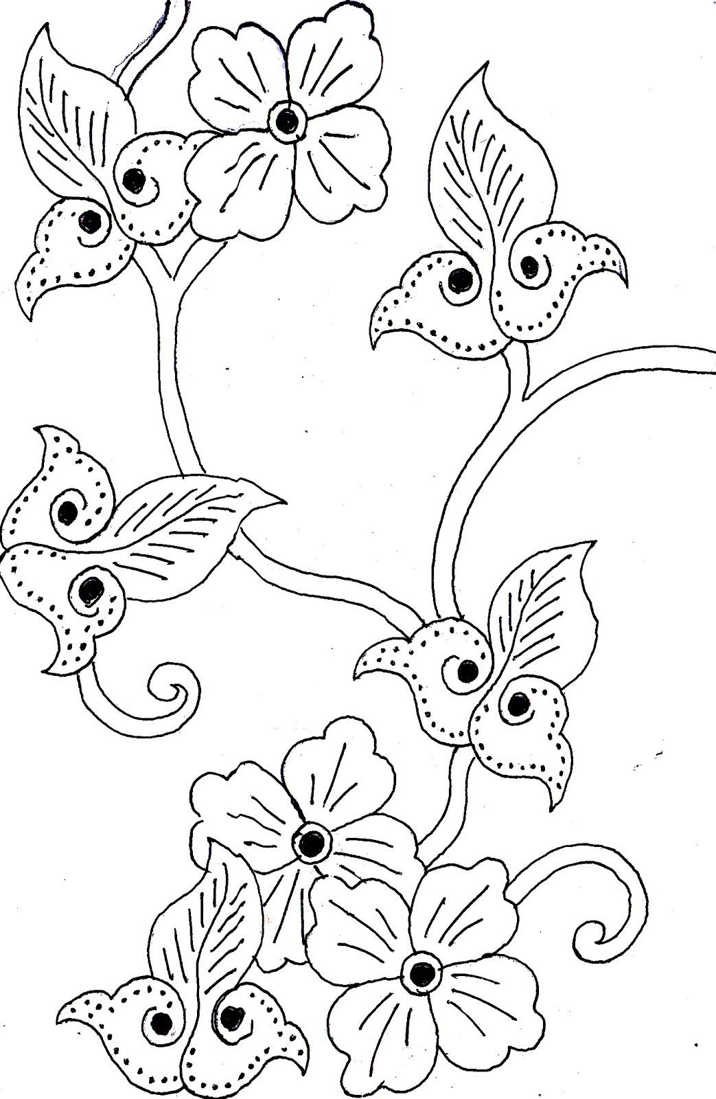 Sketsa Gambar Batik : sketsa, gambar, batik, Spesial, Sketsa, Motif, Batik, Modifikasi,, Gambar