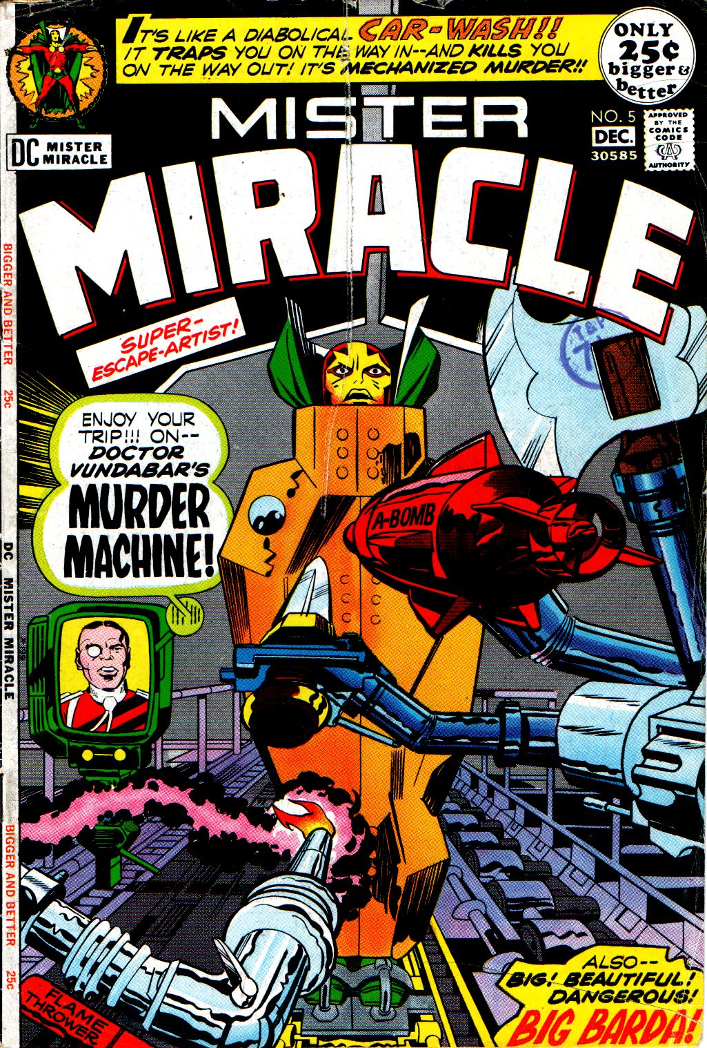 Mister Miracle (1971) issue 5 - Page 1