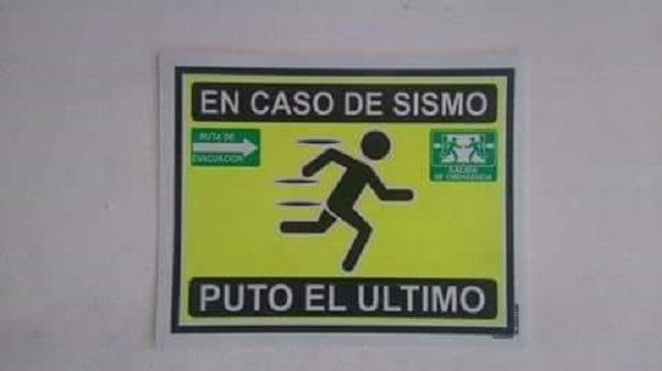 En caso de sismo