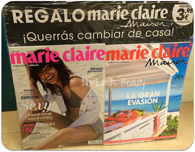 Regalos Revistas Mayo 2016: Marie Claire
