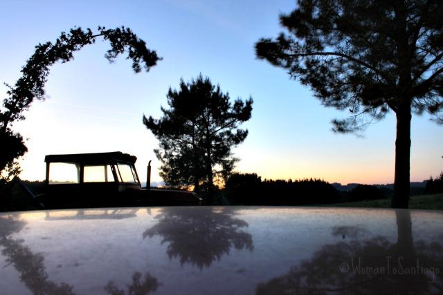 foto puesta de sol