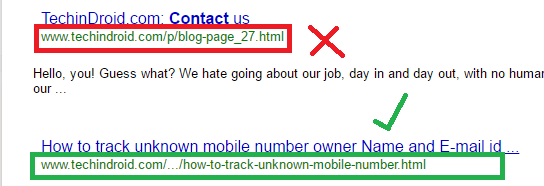 SEO optimization URL Friendly