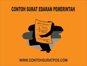 Gambar untuk Contoh Surat Edaran Pemerintah Yang Baik dan Benar