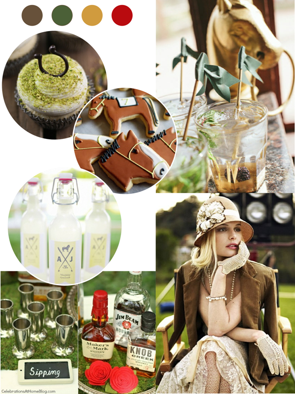 Kentucky Derby Inspired Party Ideas - via BirdsParty.com