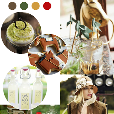 Kentucky Derby Inspired Last Minute Party Ideas