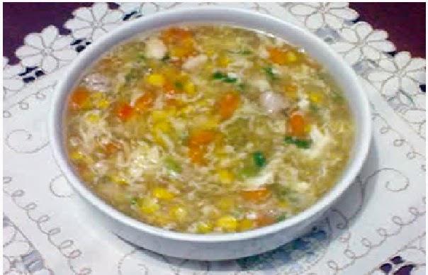 resep cara memasak sup ayam jagung spesial enak