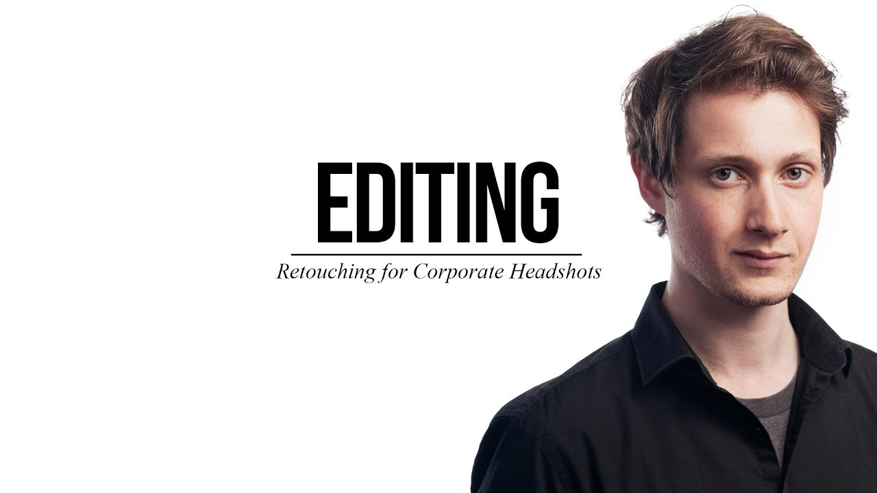 How to Edit Headshots on a White Background