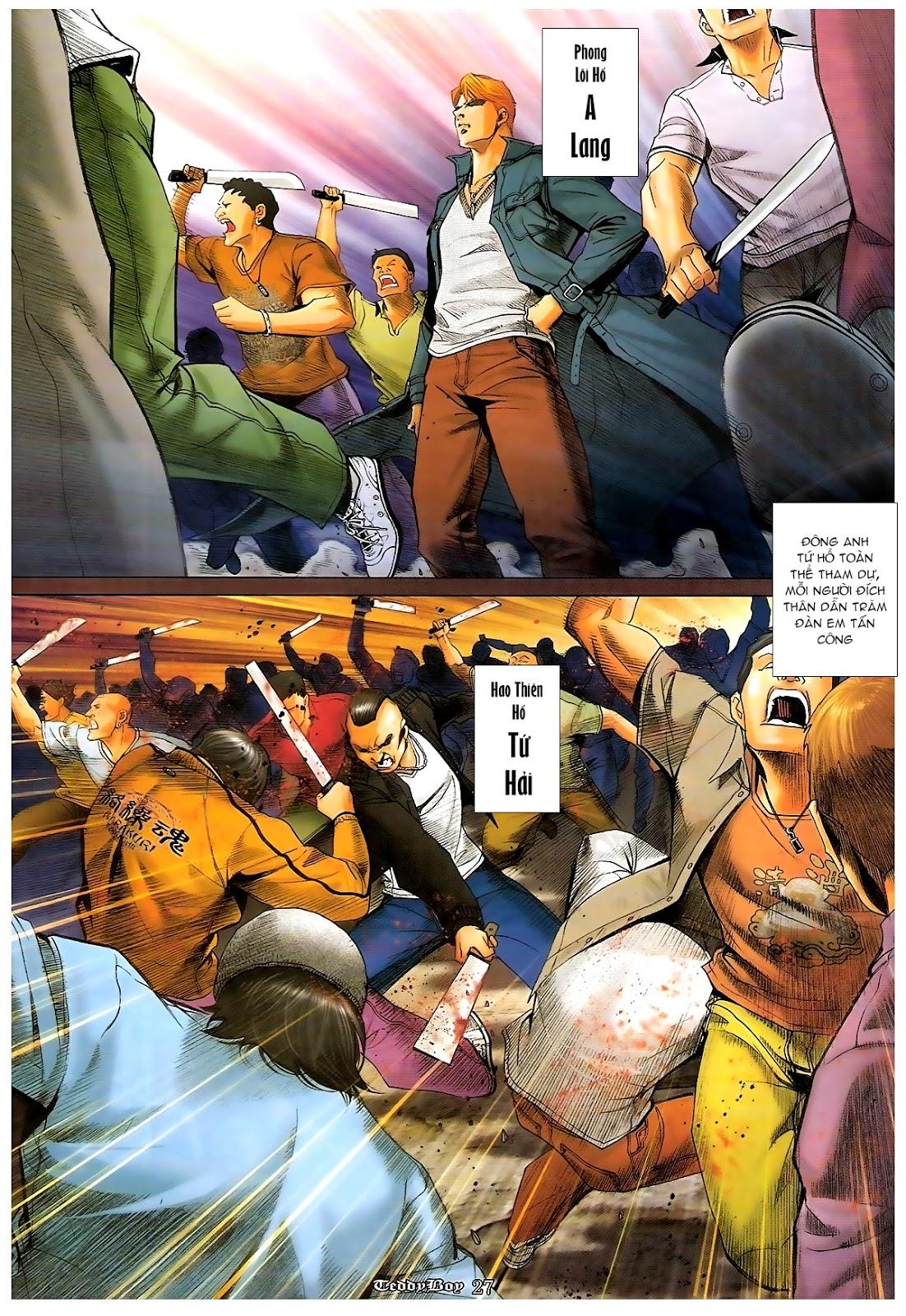 Người Trong Giang Hồ - Chapter 1206: Xúc Đại Đông - Pic 24