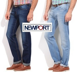 Newport Men's Jeans Minimum 50% off starts from Rs.363 @ Amazon