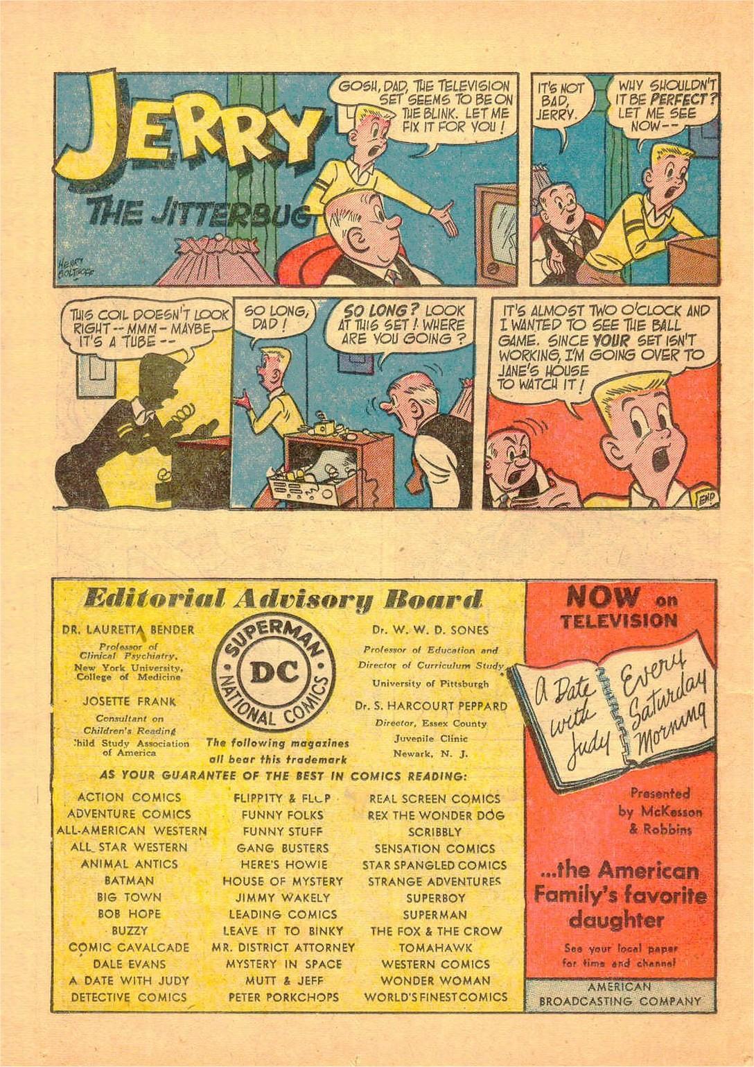Read online Detective Comics (1937) comic -  Issue #182 - 29
