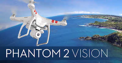DJI Phantom to vision Quad copter video camera
