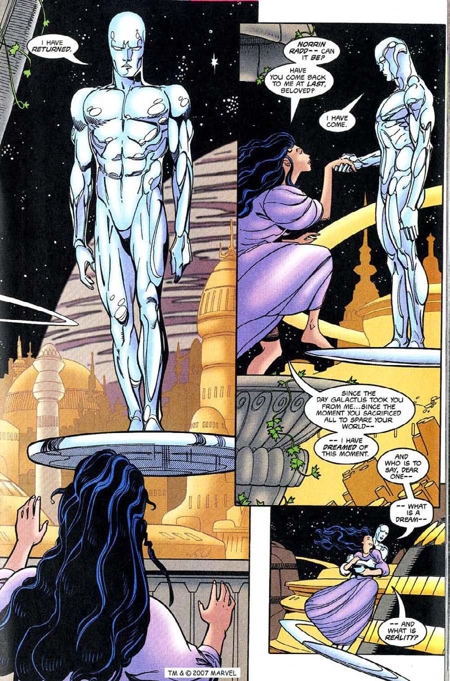 Read online Silver Surfer (1987) comic -  Issue #131 - 17