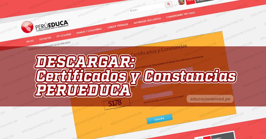 Perú Educa anuncia que pueden acceder a las constancias de cursos virtuales - www.perueduca.pe