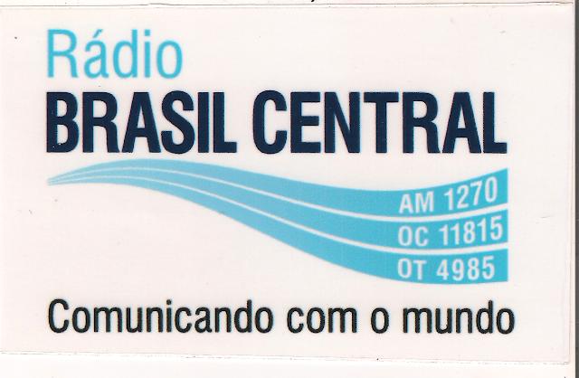 Rádio Brasil Central Adesivo