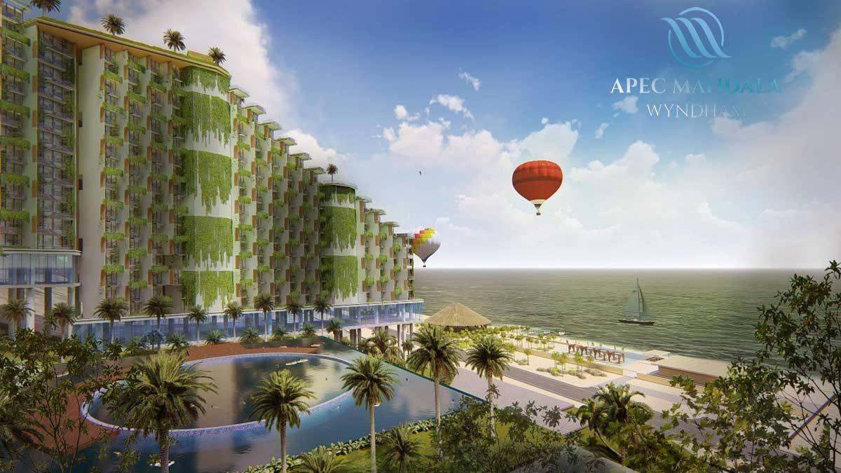 Phối cảnh dự án Apec Mandala.