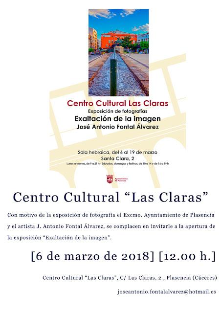 Invitación al evento expositivo by J. Antonio Fontal Álvarez