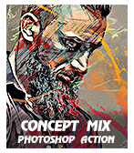 \  - Concept 2BMix - Quick Sketch Photoshop Action