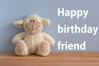 birthday image for friends with taddy