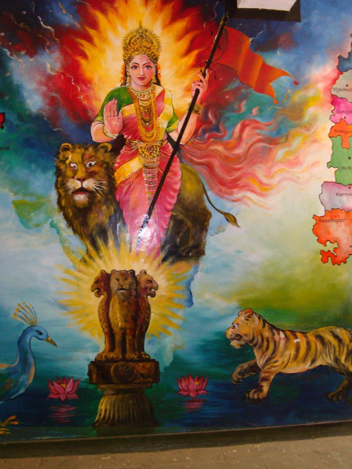 Bharta Mai Ki Jai Independence Day God Wallpapers